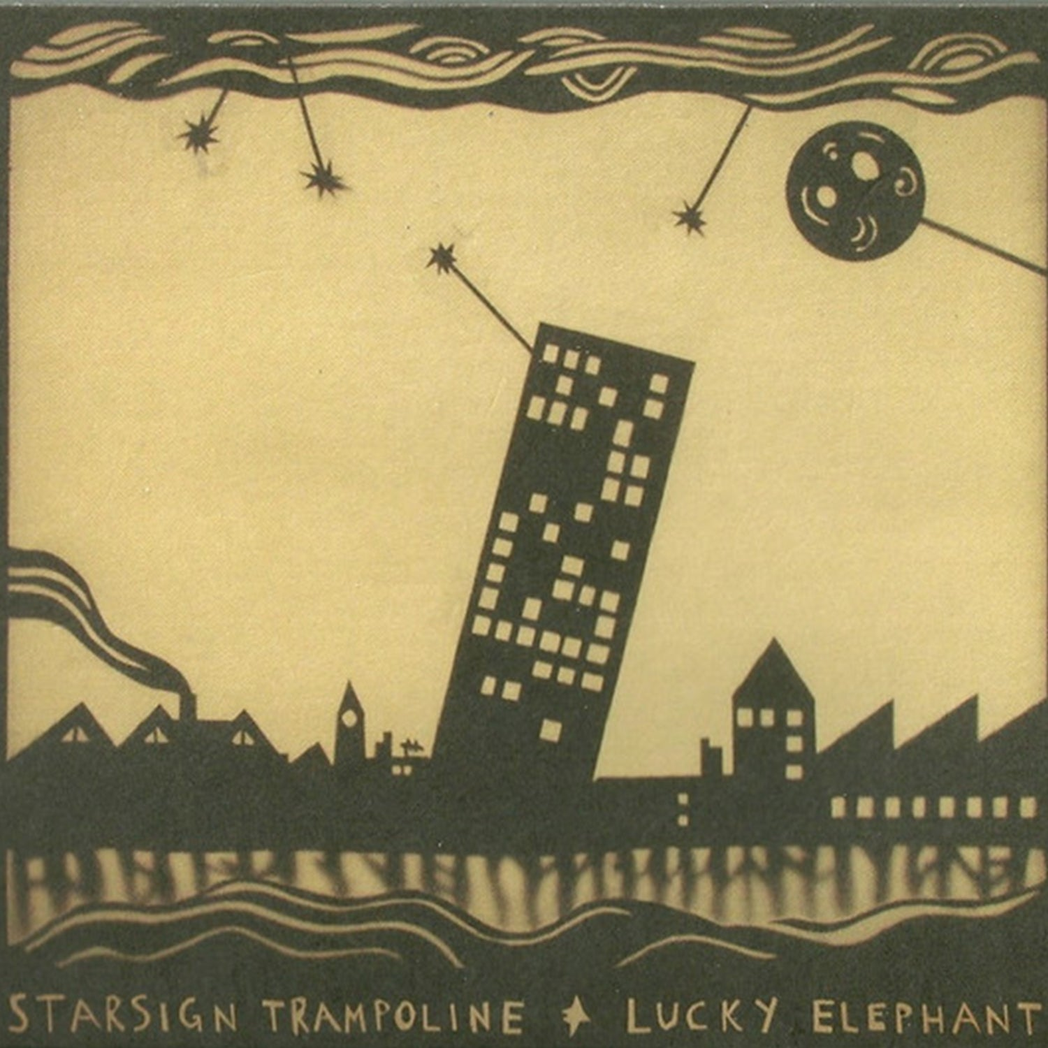 Image of Lucky Elephant- Star SIgn Trampoline