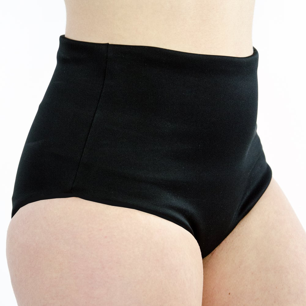 Image of Space Narwhals High Waisted Cheeky Shorts