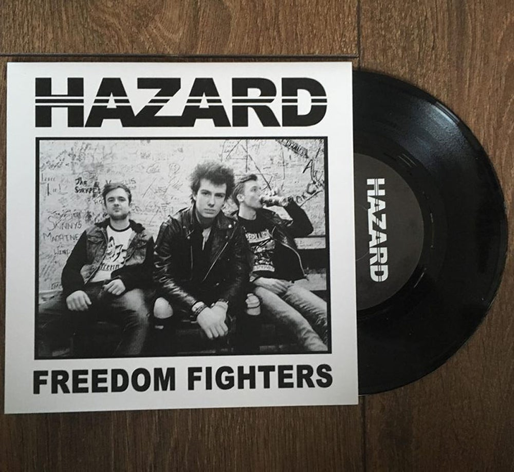 "Image of Freedom Fighters 7"" Single"