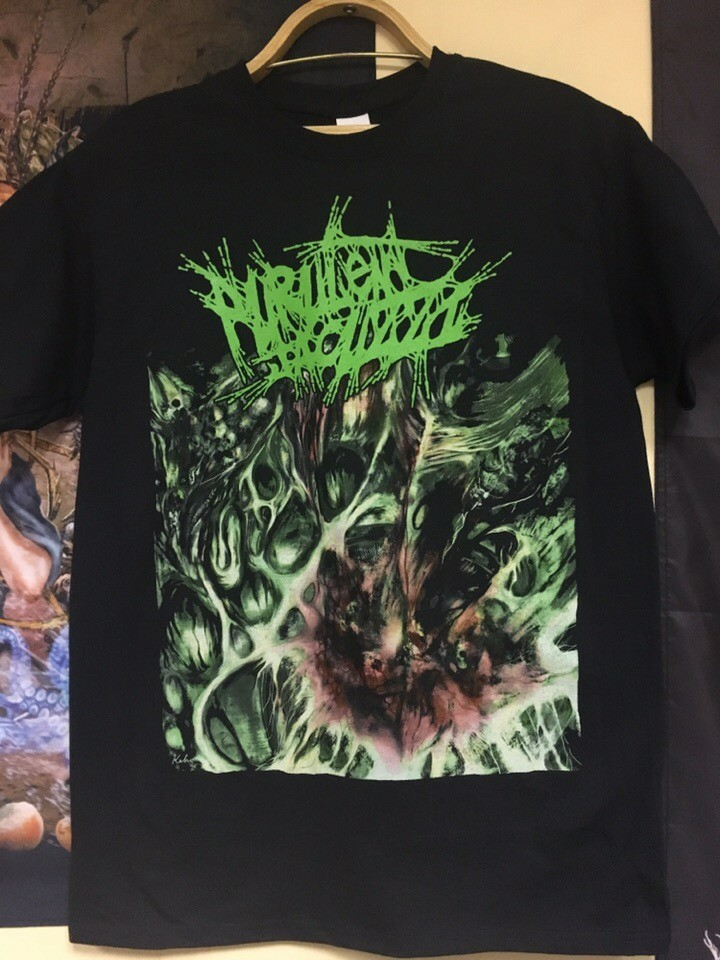 "Image of Officially Licensed Purulent Jacuzzi ""Stench of the Drowned Carrion"" Short/long sleeve shirts!"