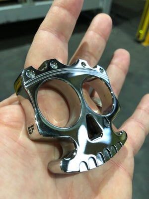 Image of 💀King of skulls 💀STAINLESS STEEL AISI 316