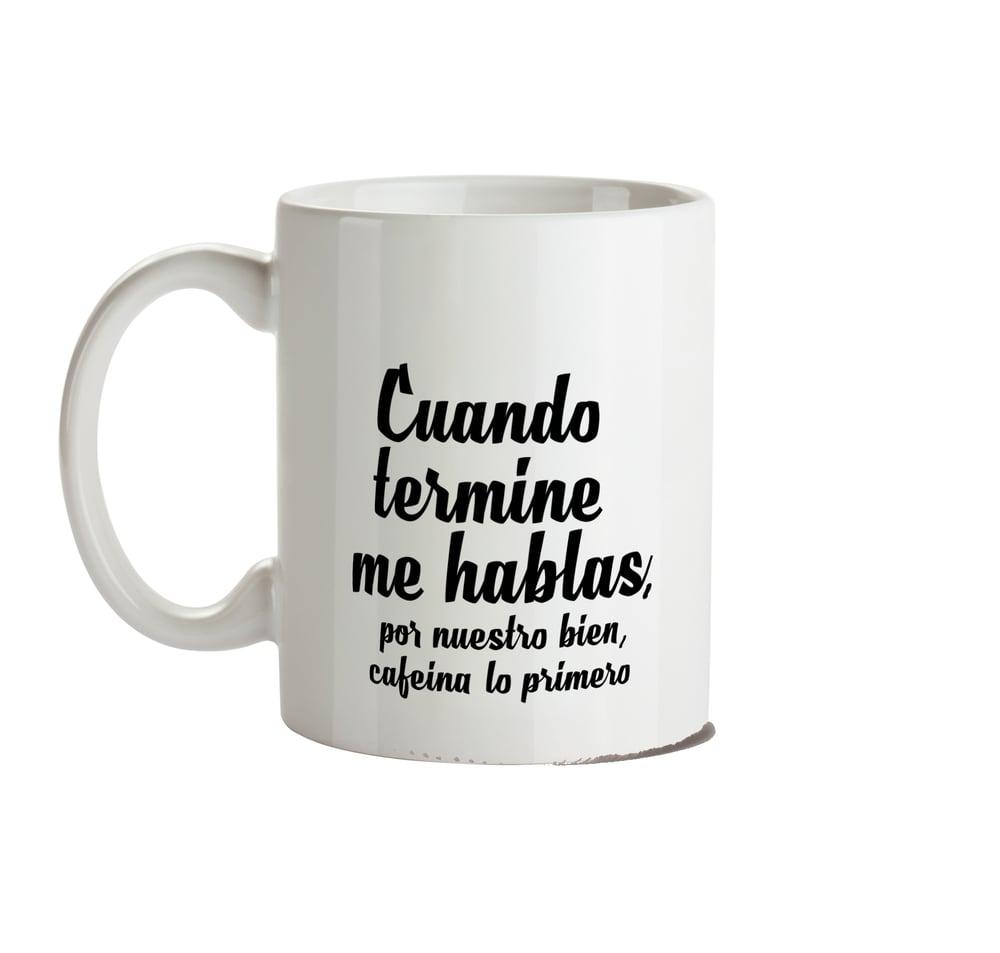 Image of Taza Cafeína lovers