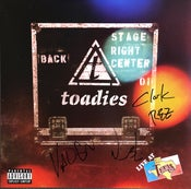 Image of Toadies - Live at Billy Bobs SIGNED VINYL