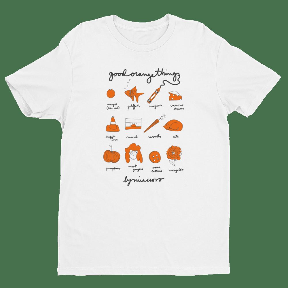Image of Unisex 'Good Orange Things' T-Shirt