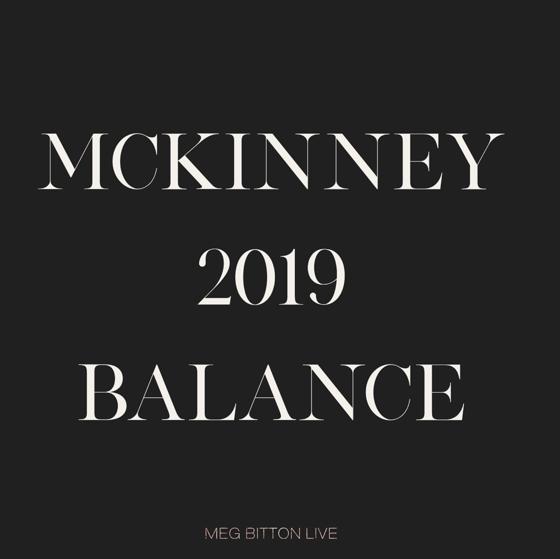 Image of McKinney 2019 Balance