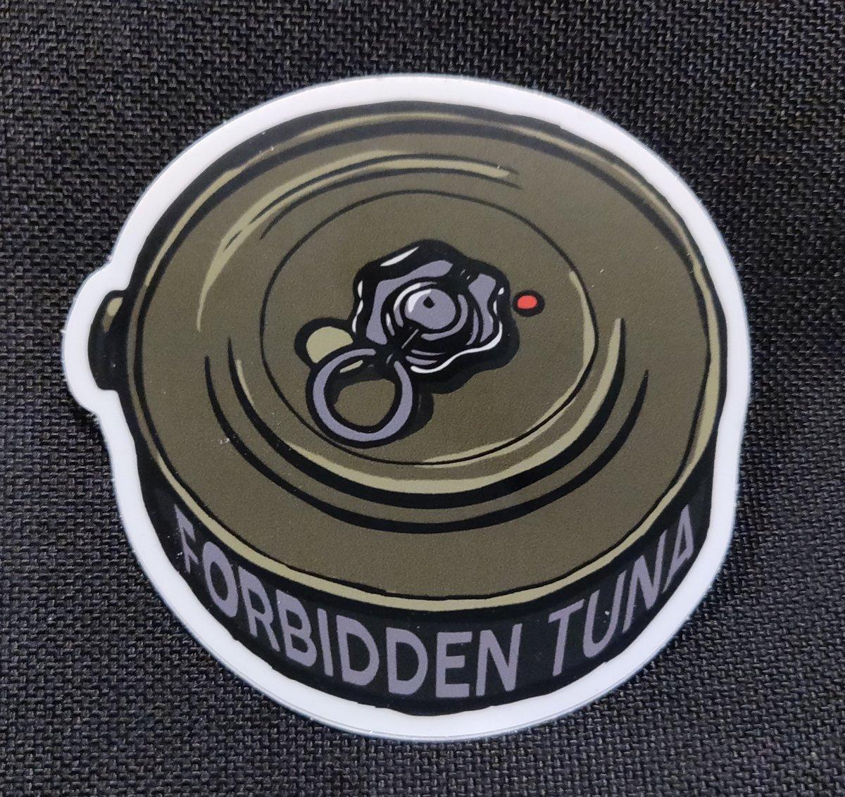 Image of Forbidden Tuna Sticker