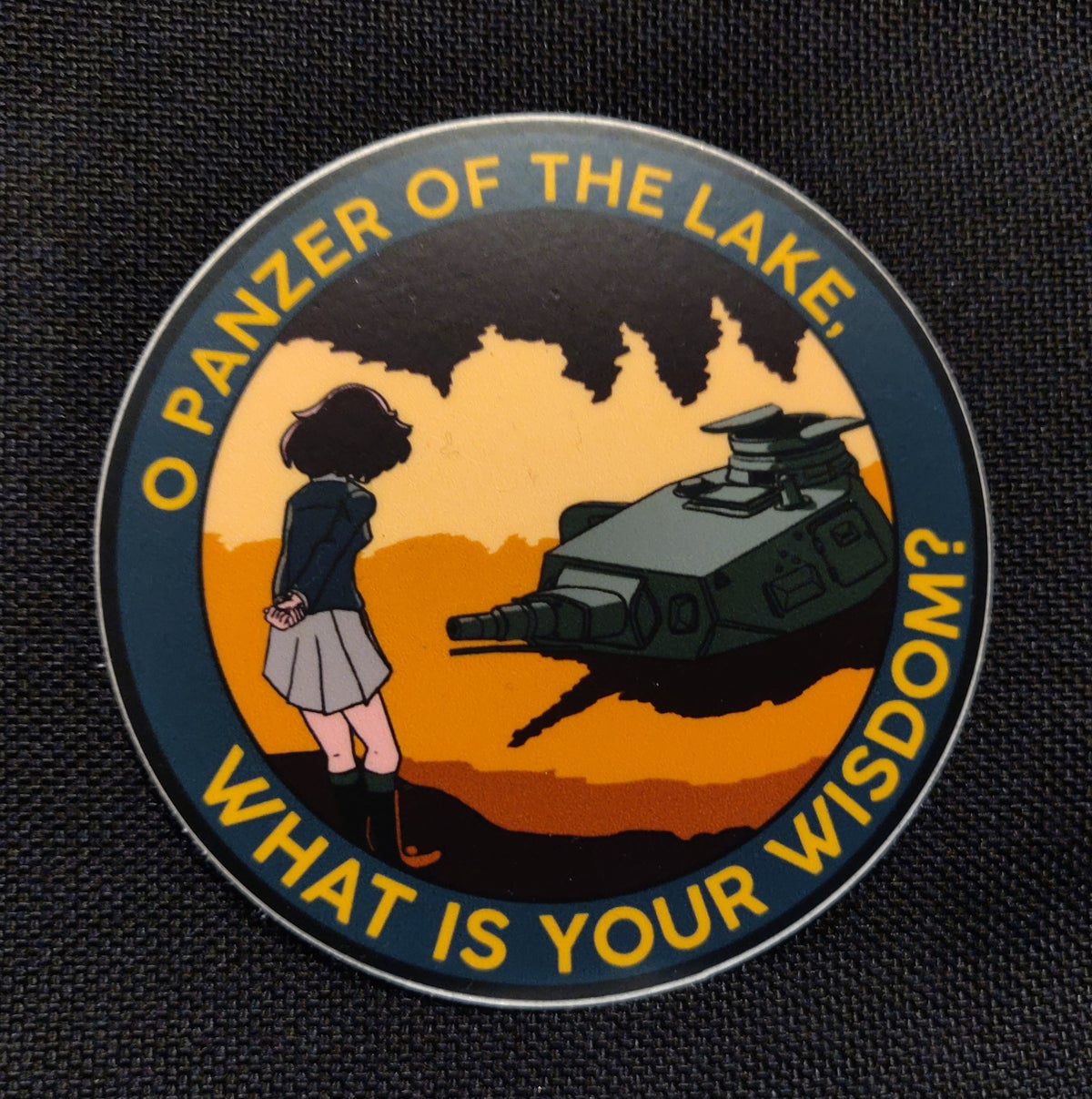 Image of Panzer of the Lake Sticker