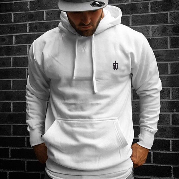 Image of CLASSIC WHITE HOODIE