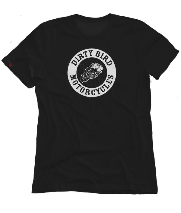 Image of Dirty Bird Motorcycles black crew neck