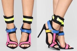 Image of Multi Colored Heel