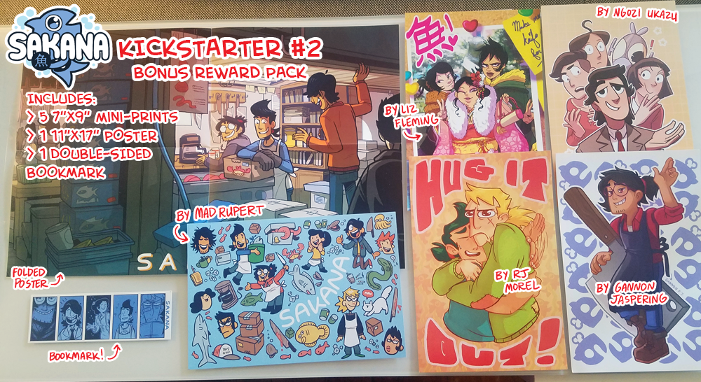 Image of SAKANA Kickstarter #2: Bonus Reward Pack