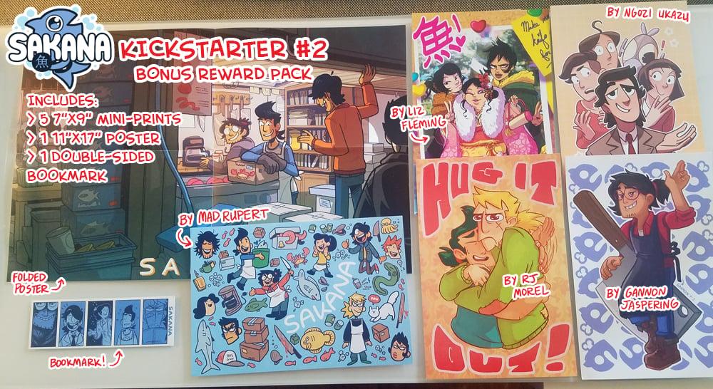 Image of SAKANA Kickstarter #2: Bonus Reward Pack