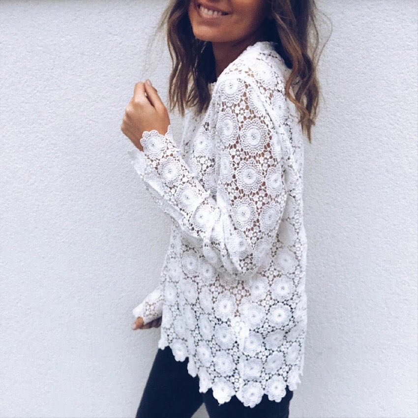Image of Annie Lace Blouse
