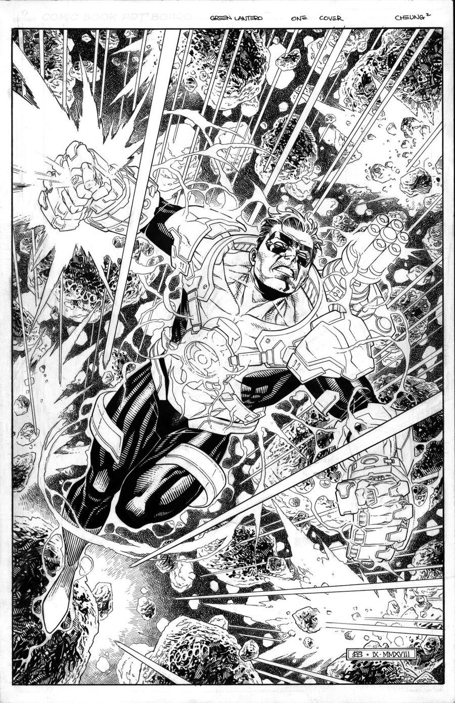 Image of GREEN LANTERN #1 - Variant Cover