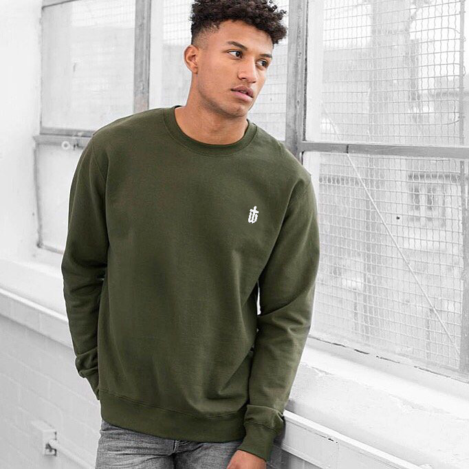 Image of CLASSIC OLIVE SWEAT