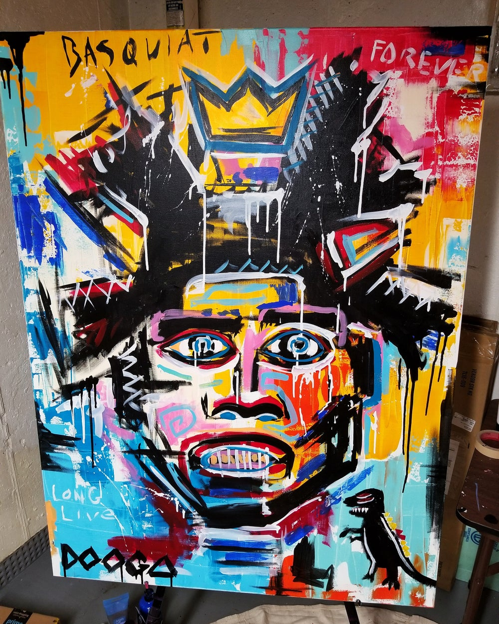 Image of Basquiat - Canvas Print