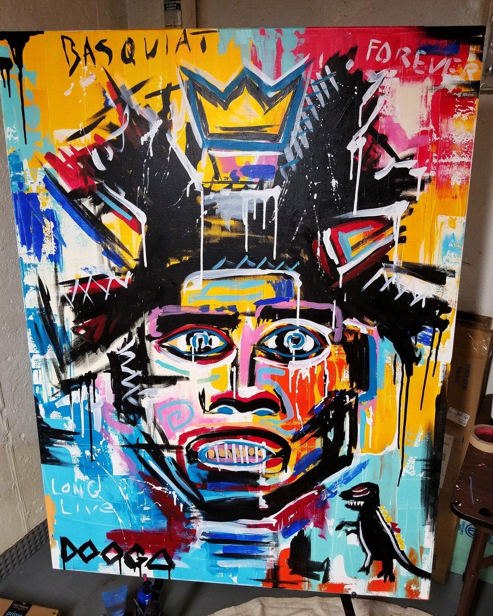 Image of Basquiat - Canvas Print
