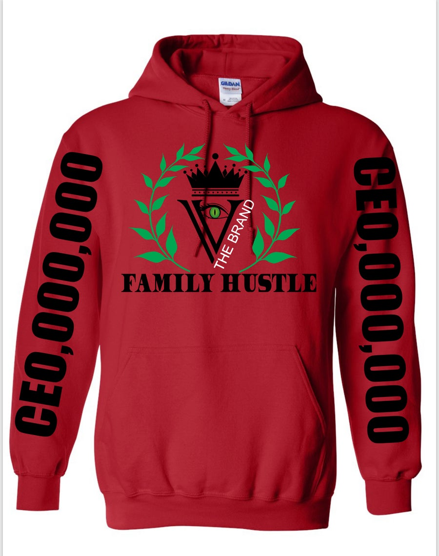 "Image of CEO,000,000: FAMILY HUSTLE ""ROJO"""