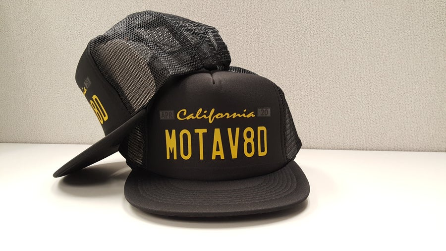 Image of Motav8d LP - Foam Trucker Hat