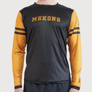 Men's Varsity Active Long Sleeve Tee - mekong