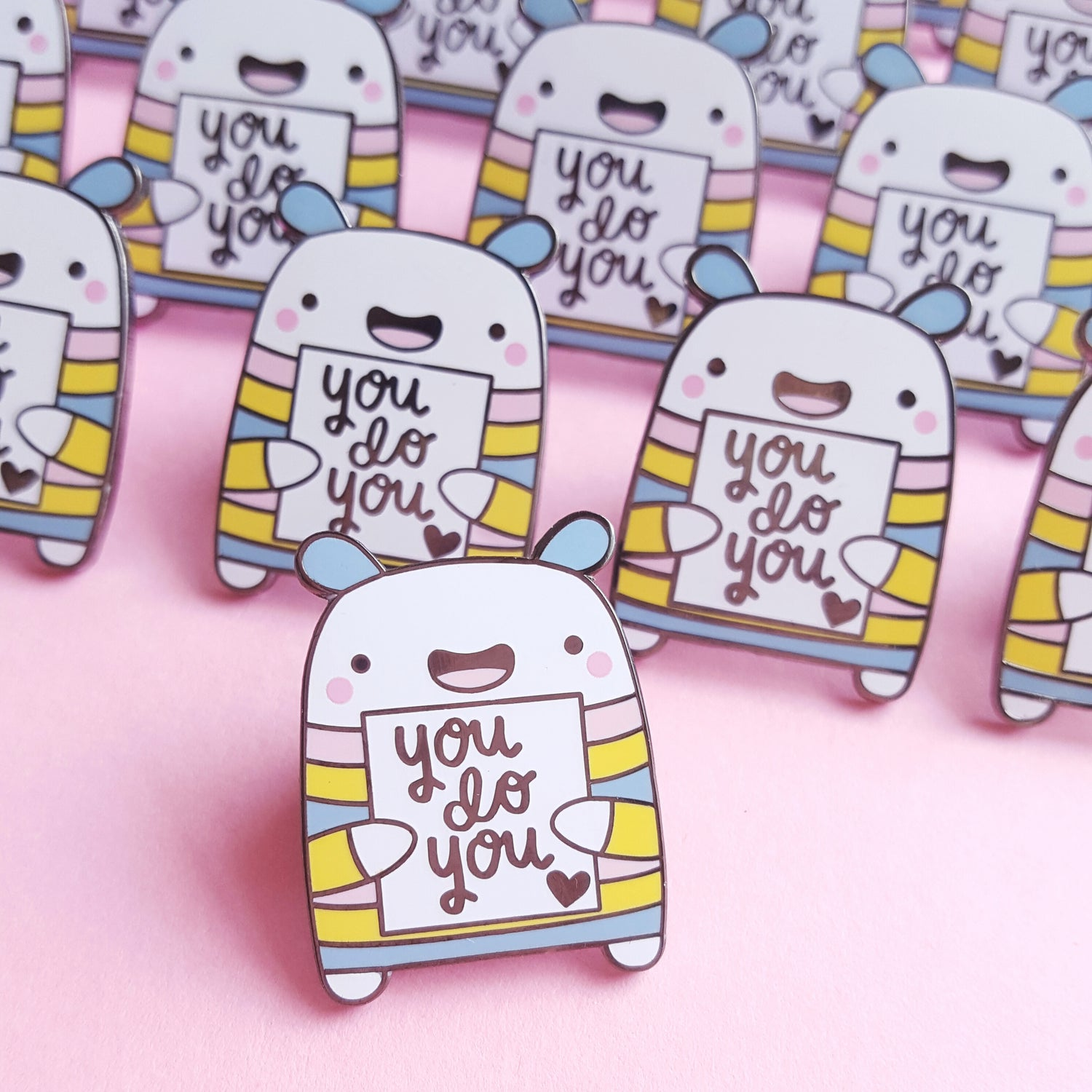 Image of Leon - the You Do You Critter Hard Enamel Pin Pal