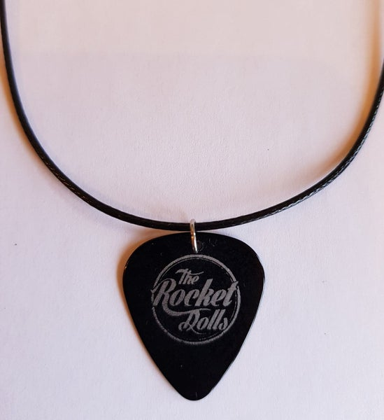 Image of The Rocket Dolls Plectrum Necklace