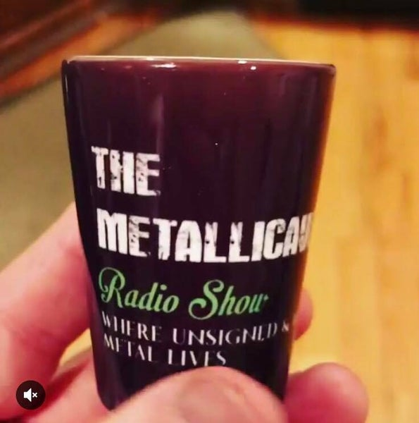 Image of Metallicave Shot Glass