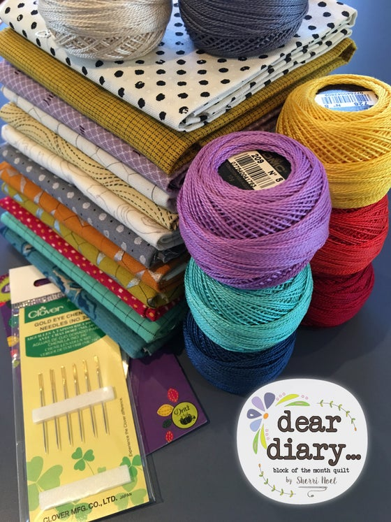 Image of Dear Diary Pearl Cotton Bundle