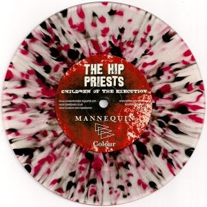 "Image of The Hip Priests / Mannequin - Split 7"" (splatter vinyl) 3 VERSIONS"