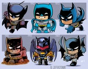 Image of Evolution of Batman (comic edition)