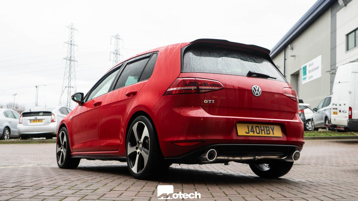 Image of Remus rear box delete VW Golf Mk7 / Mk7.5 GTI TSI