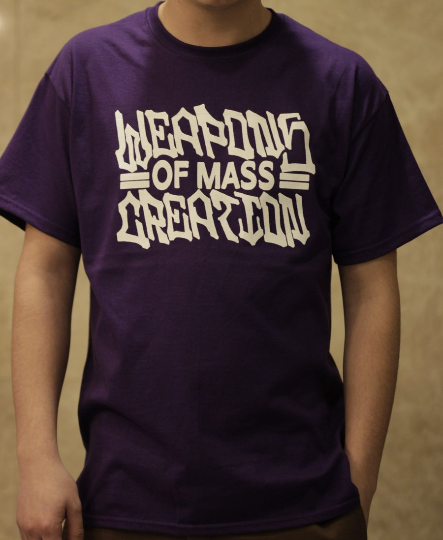 "Image of ""The Name Is"" Purple Tee"