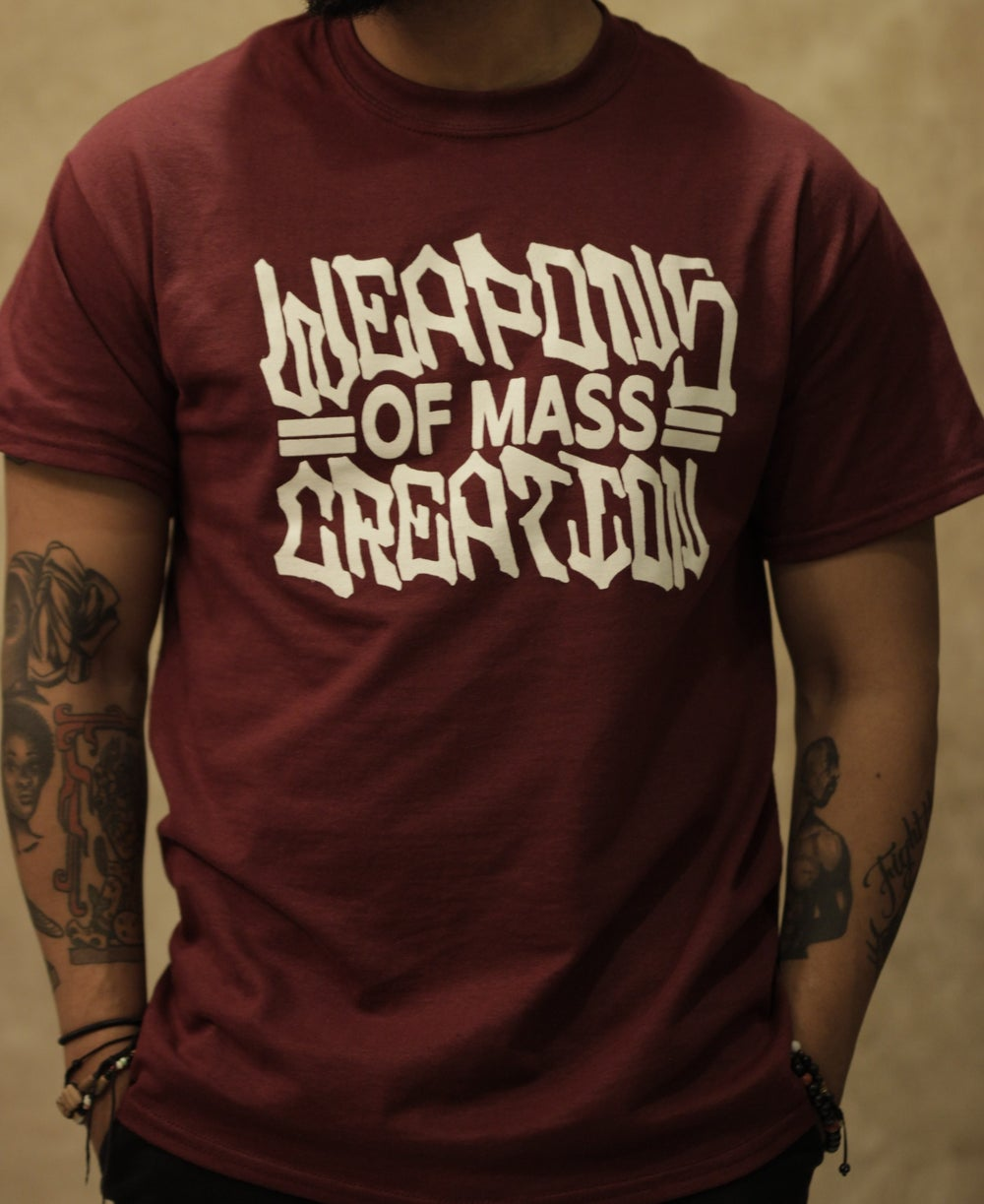 "Image of ""The Name Is"" Maroon Tee"