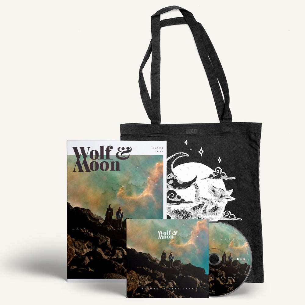Image of Before It Gets Dark - CD, a Mag in a Bag