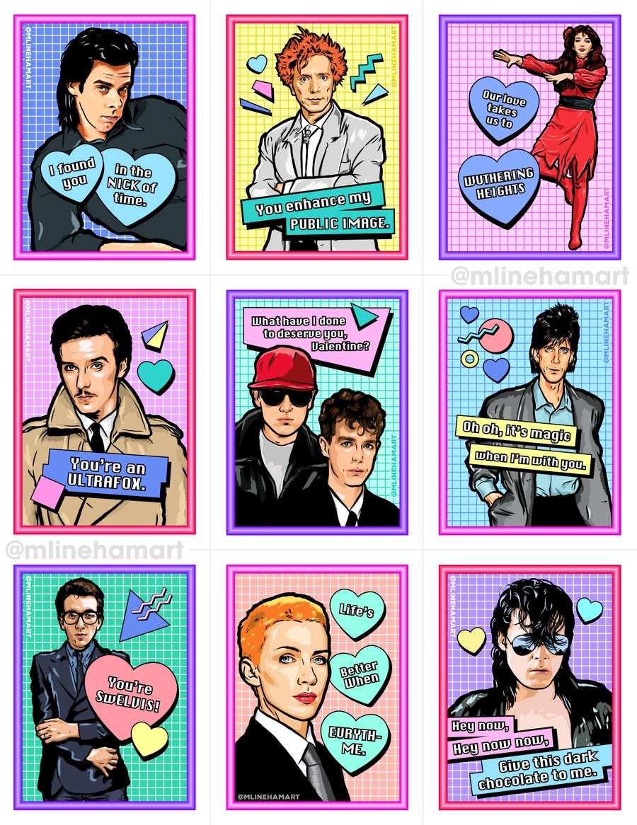 Image of New Wave Valentine's Day Card Pack (2019)