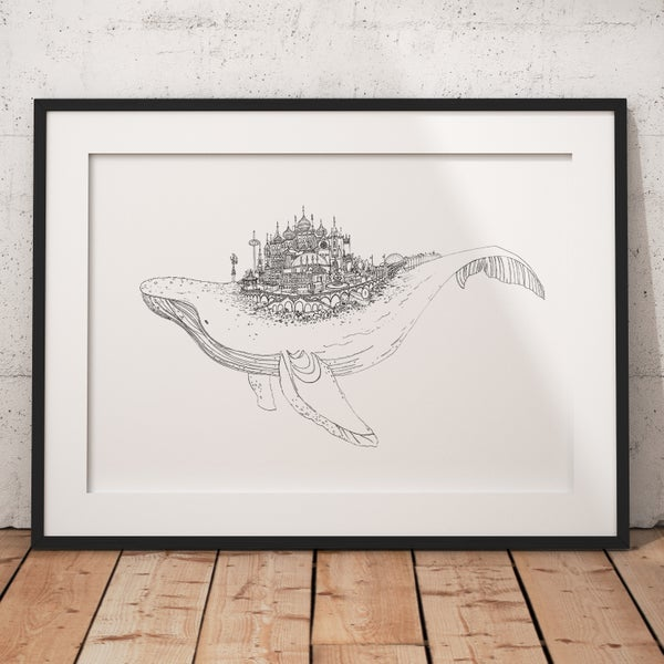 Image of Brighton Whale Illustration