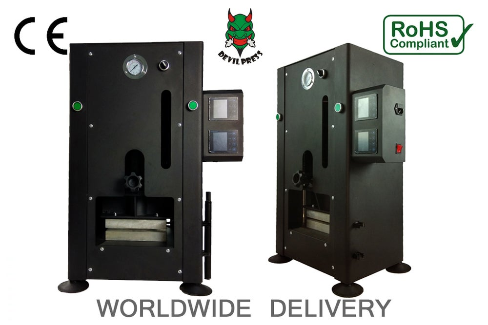 Image of DEVIL PRESS™ BIG DADDY 30 TON MANUAL ROSIN PRESS MACHINE