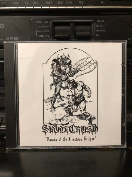 "Image of ""Visions Of The Firestorm Eclipse"" CD"