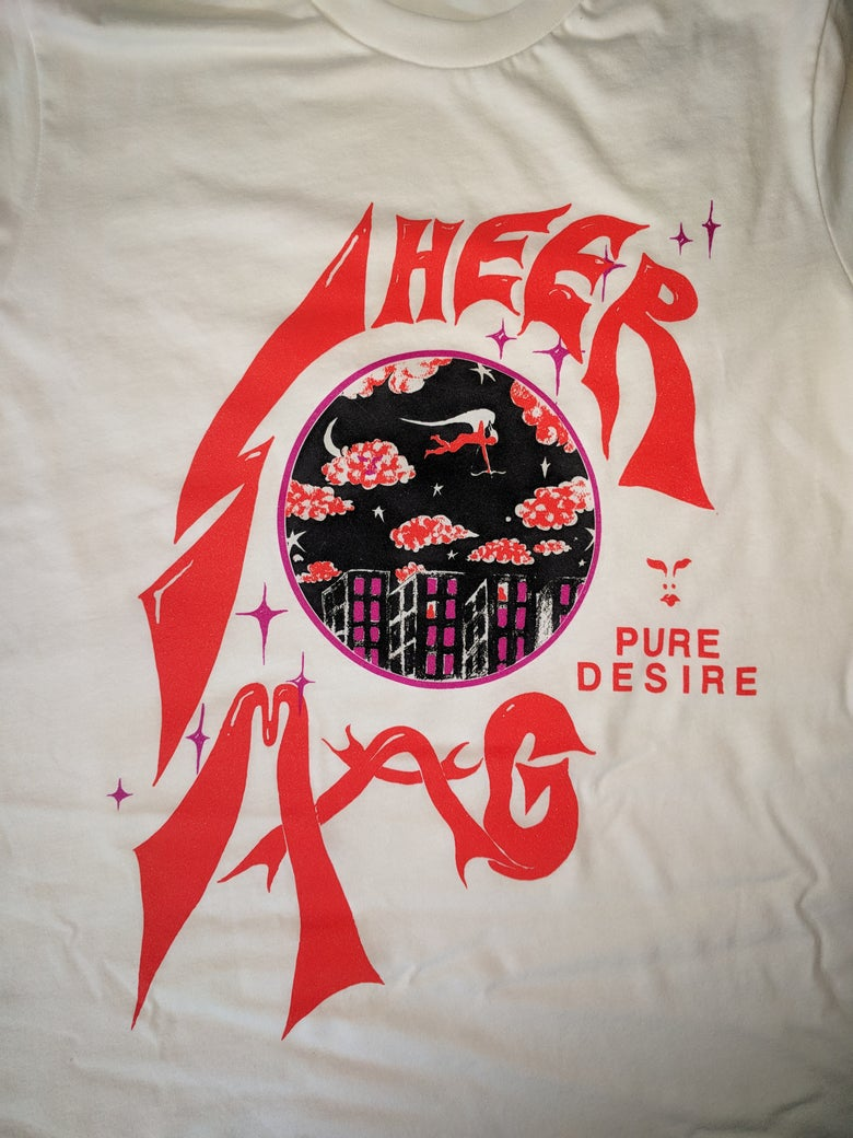 "Image of **NEW** SHEER MAG ""PURE DESIRE"" SHIRT"