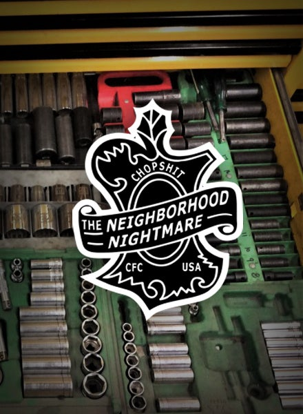 Image of Neighborhood Nightmare [Sticker]