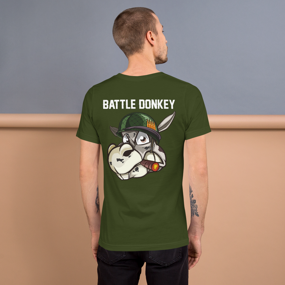 Image of Battle Donkey T-Shirt