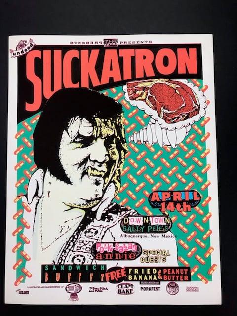 Image of Suckatron- Albuquerque show poster