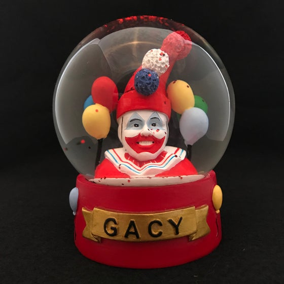 Image of John Wayne Gacy - Pogo The Clown Snow Globe