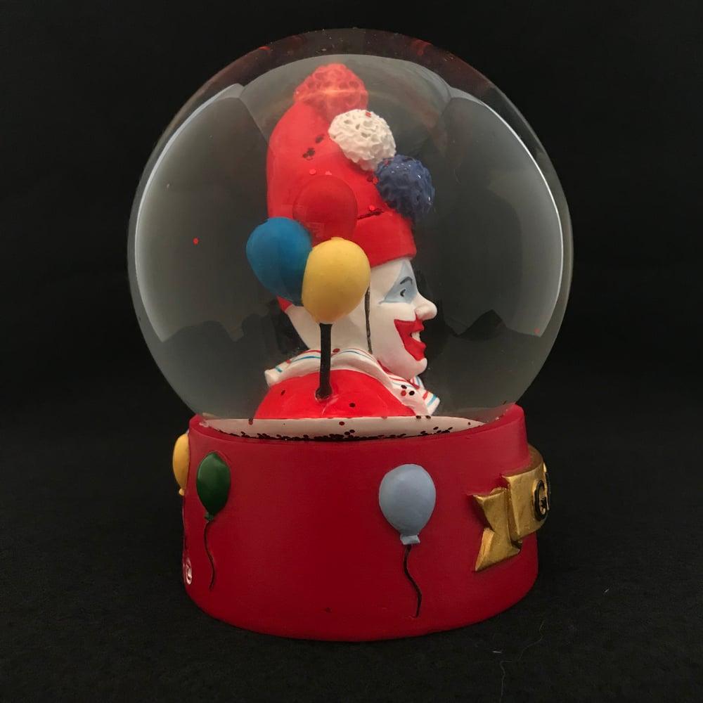 Image of John Wayne Gacy - Pogo The Clown Snow Globe