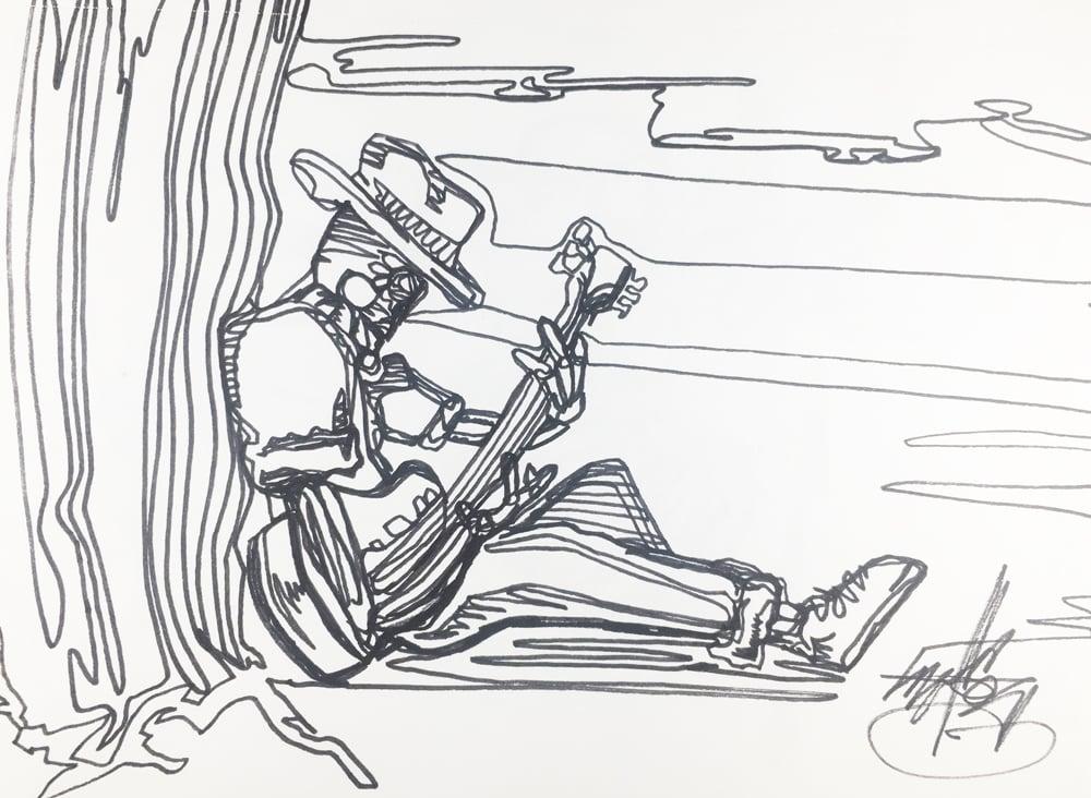 "Image of ""Strum"" drawing"