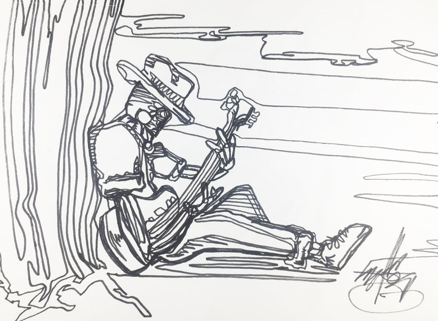 "Image of ""Strum"" drawing"