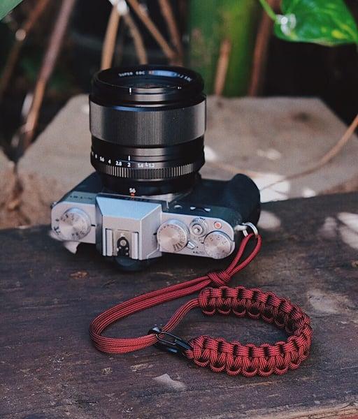 Image of Single strap w/ black clip slider