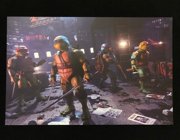 Image of Exclusive TMNT CGI Print