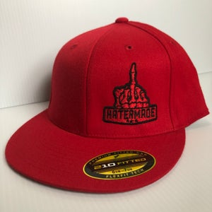 Image of Solid Color Fitted - Red or Heather
