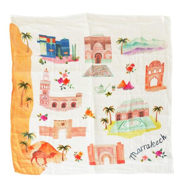 Image of LOU LOU LOLLIPOP Marrakesh Bamboo Swaddle